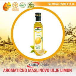 Aromaticno maslinovo ulje limun 0,25l monini + 1 gratis