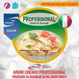Arum cremio professional proizvod za kuvanje sa biljnom masti