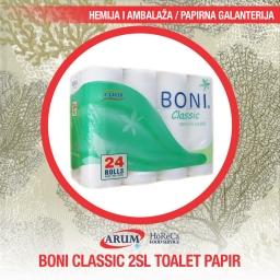 Boni classic 24/1 2sl toalet papir