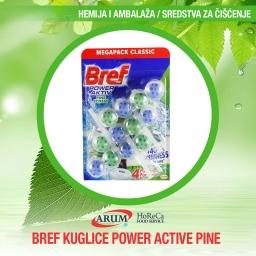 BREF KUGLICE POWER ACTIVE PINE 3x50gr (9/#)