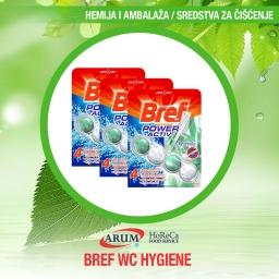 Bref wc hygiene 4x50gr (9/1#)