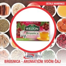 Brusnica - aromaticni vocni caj 44g (12/1#) welton