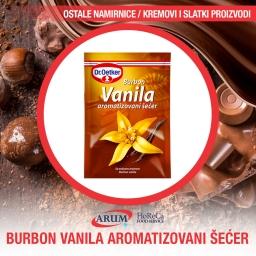 Burbon vanila aromatizovani secer 10gr (50/11#)