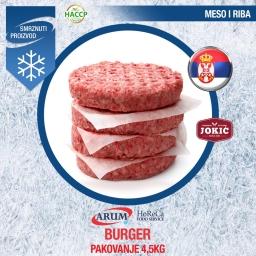 Burger (cca 4.5kg/1#)