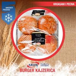 Burger kajzerica (4x80gr)