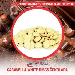 Caravella white discs cok.
