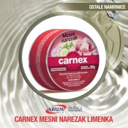 Carnex mesni narezak limenka 150g (10/1#)