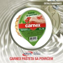 Carnex pasteta sa povrcem 50g (20/1#)