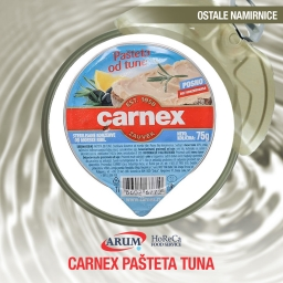 Carnex pasteta tuna 75gr (14/1#)