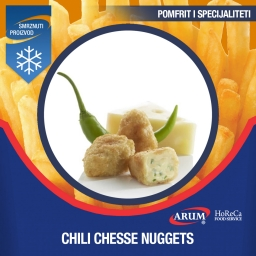 Chili cheese nuggets  6x1 kg