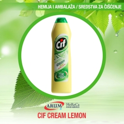 Cif cream lemon 500ml (8/1#)