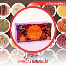 Crni caj -narandza ( kesice 25 kom)