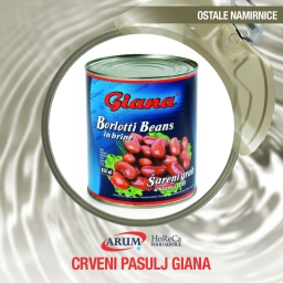 Crveni pasulj 425ml giana