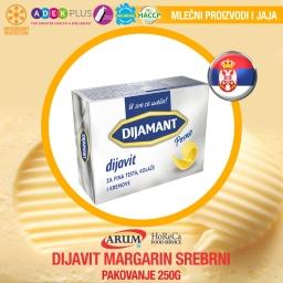 Dijavit margarin 250gr srebrni