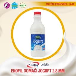 Domaci jogurt 2,8% mm 1 kg ekofil (6/1#)