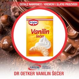 Droetker vanilin secer 500g professional (12/#)