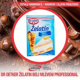 Droetker zelatin beli mleveni 500gr professional (8/#)