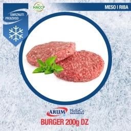 Dz burger cca 200gr (cca 6kg/#)