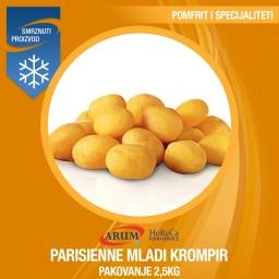 Eco parisienne mladi krompir 2,5KG