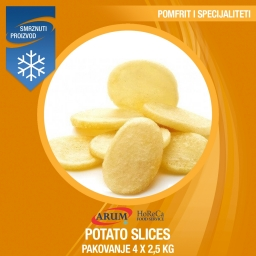 Eco potato slices 4x2.5 kg - dolar