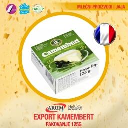 Export kamembert 125gr