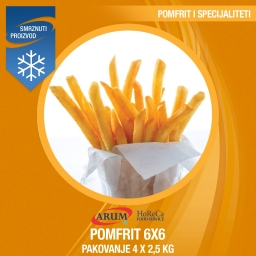 F62 lw pomfrit 6x6 4x2.5kg