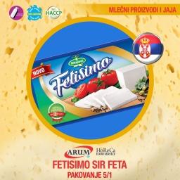 Fetisimo sir feta 5/1