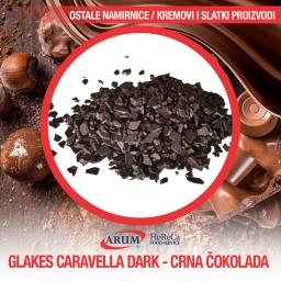Flakes carav.dark-crna cokolada