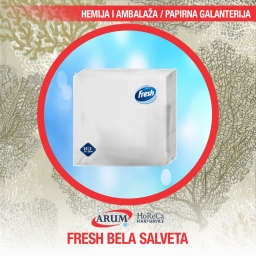 Fresh bela salveta 1000/1