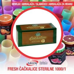 Fresh cackalice sterilne 1000/1