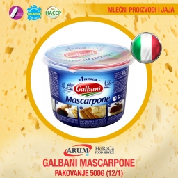 Galbani mascarpone 500gr (12/1#)