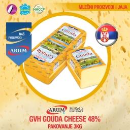 Gvh gouda cheese 48% 3 kg Arum