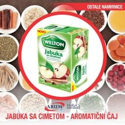 Jabuka sa cimetom-aromaticni caj 44g (12/1#)
