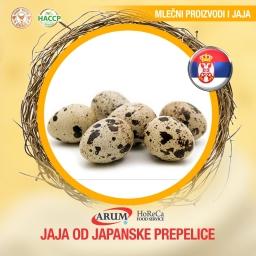 Jaja od japanske prepelice