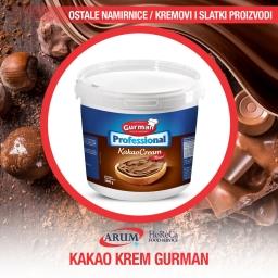 Kakao krem professional gurman 6000g termostabilan