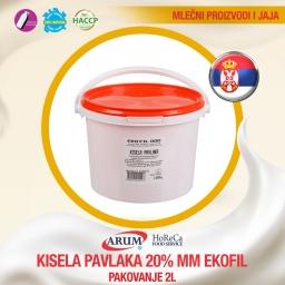 Kisela pavlaka 20%mm 2l ekofil