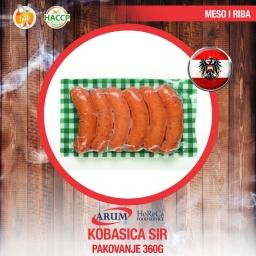 Kobasica sir 360gr