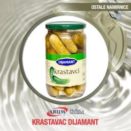 Krastavci (6-9cm) 660g dijamant (12/1#)
