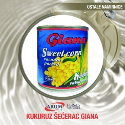 Kukuruz secerac 425ml giana (6/1#)