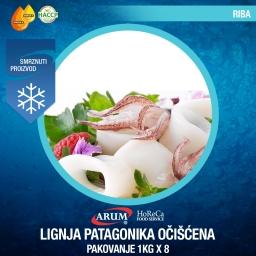 Lignja patagonika ociscena 1kg x 1