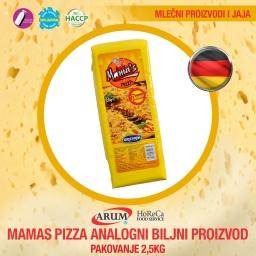 Mamas pizza analogni biljni proizvod 2,5kg (12.5kg/1#)