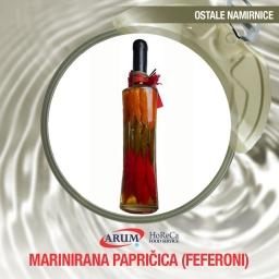 Marinirana papricica (feferoni) 720 ml