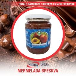 Marmelada breskva 650gr (6/1#)