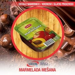 Marmelada mesana 30g 120/1
