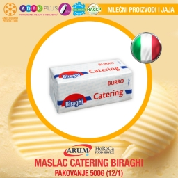 Maslac catering 500g biraghi (12/1#)