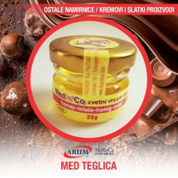 MED TEGLICA 25G  (60/1#)