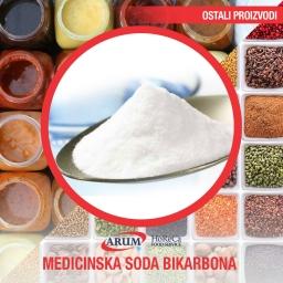 Medicinska soda bikarbona 100 gr