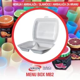 Menu box mb2 200/1