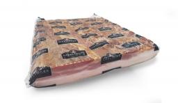 Mitros komadna slanina s kozom 1/2 cca 2,4kg (cca 12/#)
