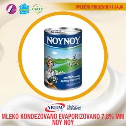 Mleko kondenzovano evaporizovano 7.8%mm noy noy 400g
